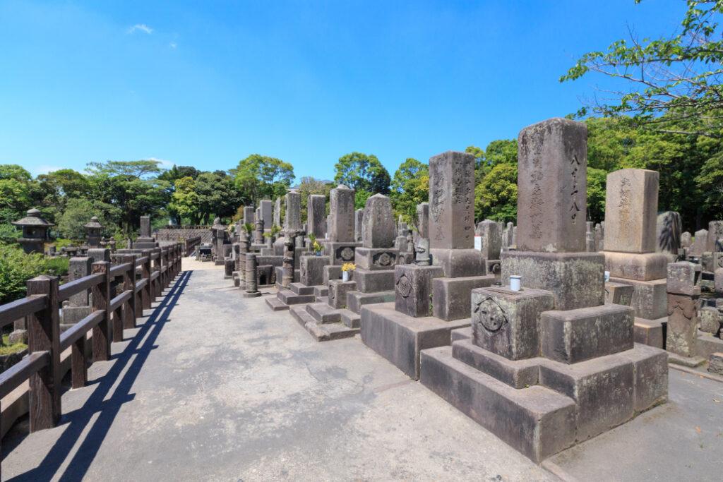 お墓 墓地